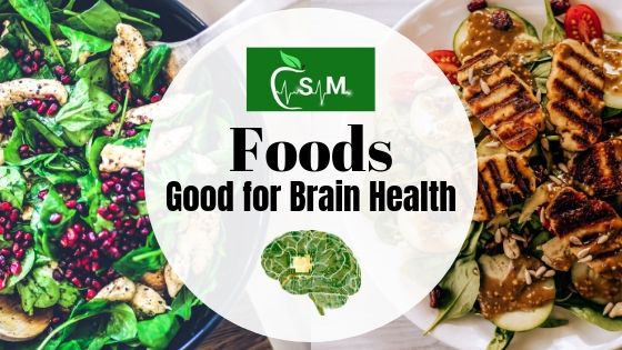 Foods Good for Brain Health